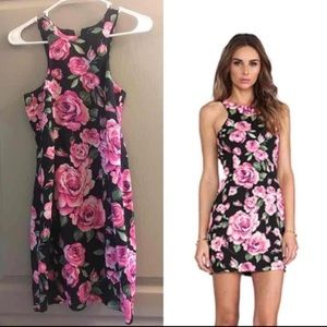 Nookie floral mini dress. Fits US2